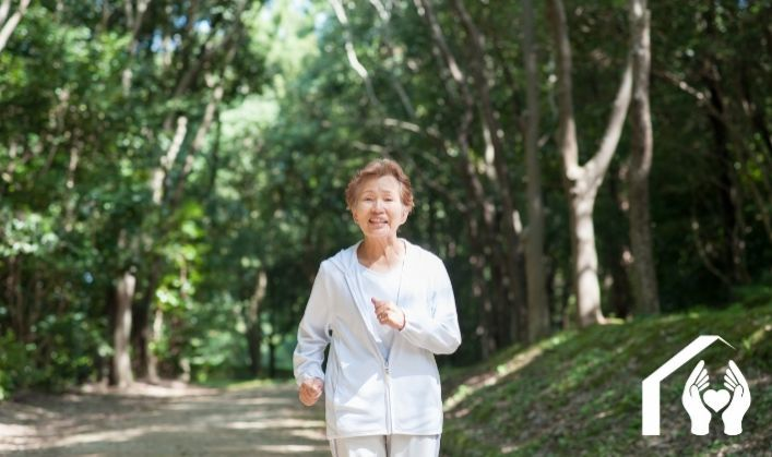 Three ways seniors can stay active at home