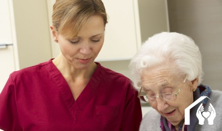 Hiring a home health aide is a safer alternative to a nursing home
