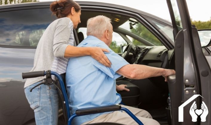 How in-home care can help with transportation