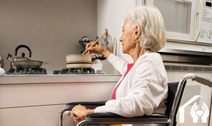 Encouraging independence with seniors