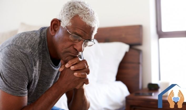 How to approach depression in elderly parents